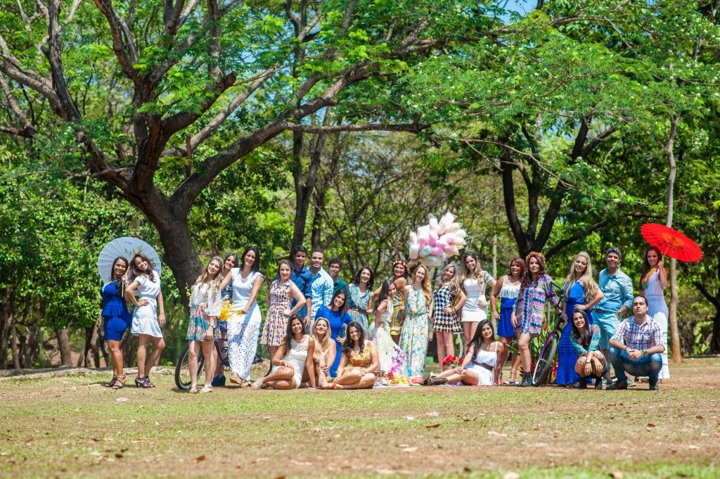 Foto dos formandos de Arquitetura da Faculdade Pitágoras
