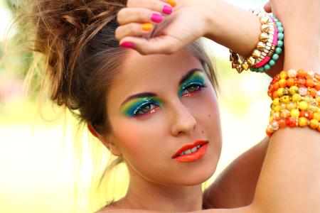 Maquiagem Foto Ar Livre 3