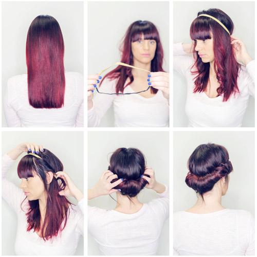 Modelos de Penteados Simples (6)